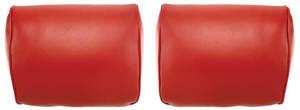 1968-72 Bonneville Headrest Covers, Reproduction Bench Seats