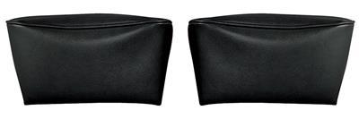 1968-1972 Bonneville Headrest Covers, Reproduction Bucket Seats