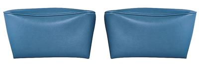 1968-1972 Bonneville Headrest Covers, Reproduction Bucket Seats
