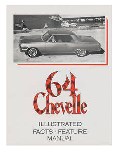 1964 Illustrated Facts Manual Chevelle