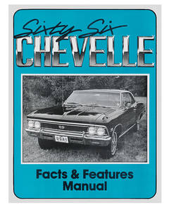 1966 Illustrated Facts Manual Chevelle
