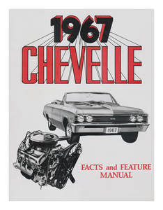 1967 Illustrated Facts Manual Chevelle