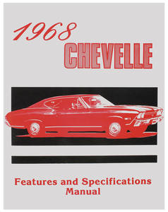 1968 Illustrated Facts Manual Chevelle