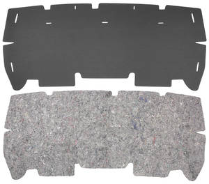 1971-1971 Tempest Trunk Divider Board & Jute Combo Kit Coupe