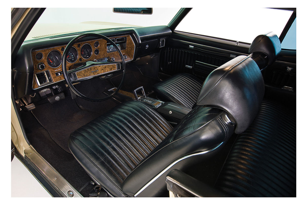 1970 interior kit stage ii monte carlo bench