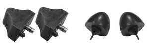 1964-72 Cutlass Control Arm Bumper 2 Upper/2 Lower