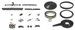 1970-1972 El Camino Cowl Induction Kit, 1970-72 Complete Complete, w/Spacer