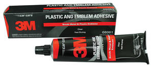 Adhesive, Plastic & Emblem