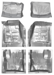 1968-72 Skylark Floor Pan Kits, 6-Piece