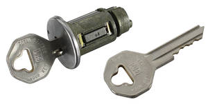1959-65 Bonneville Ignition Lock Octagon Keys, GM Keys