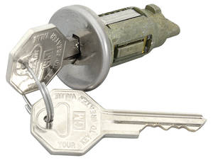 1966-67 Skylark Ignition Lock Octagon