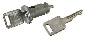 1966-67 LeMans Ignition Lock Square Keys