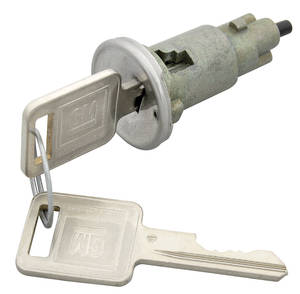 1968 Grand Prix Ignition Lock Square Keys