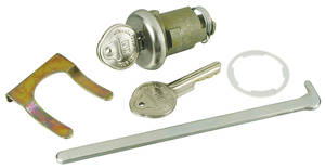 1965 Trunk Lock GM Bonneville/Catalina, Pearhead Key