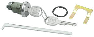 1963-65 Tempest Lock & Keys; Trunk GM Round Keys