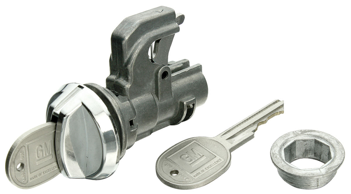 Photo of Cutlass/442 Glove Box Lock Round Keys