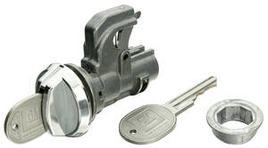 1968-69 El Camino Glove Box Lock Round Keys