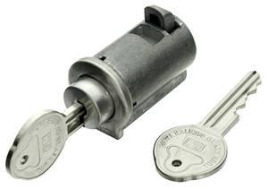 1966-67 El Camino Console Lock Pearhead Key