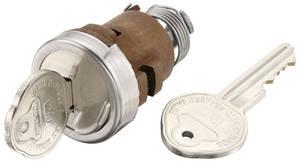 1967-68 Eldorado Trunk Lock (Pearhead Keys)