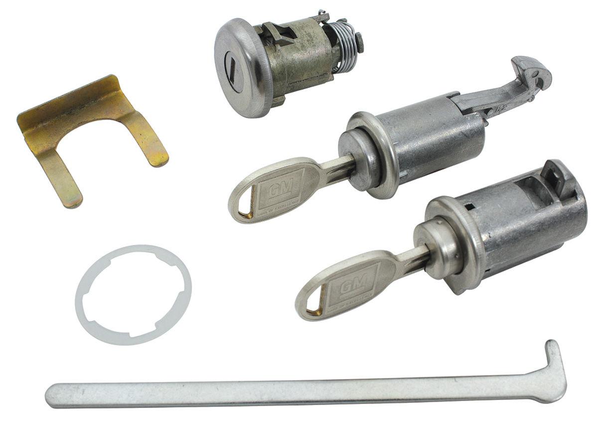 Photo of Lock Set: Console, Glove Box & Trunk Round Key