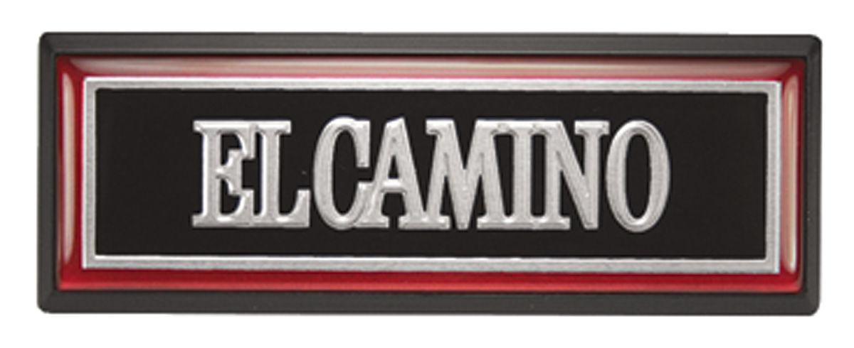 Photo of Dash Emblem El Camino