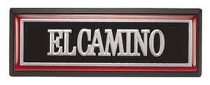 1981-1985 El Camino Dash Emblem El Camino, by RESTOPARTS