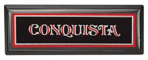 1981-85 El Camino Dash Emblem Conquista