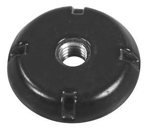 1978-1983 Malibu Antenna Mounting Nut, Fixed Black, by GM