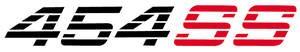"""1978-88 Malibu Racing Decal, """"454 SS"""", by GM"""