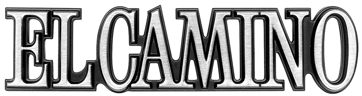 "Photo of Quarter Panel Emblem, 1978-87 ""El Camino"""
