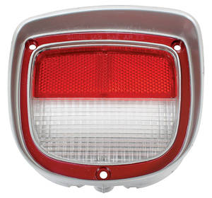 Back-Up Lamp Lens, 1973-77 El Camino & Wagon