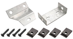 1966-67 Chevelle Console Mounting Bracket Auto, 2-Piece, by RESTOPARTS