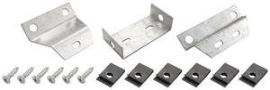 1966-67 Chevelle Console Mounting Bracket Manual, 3-Piece, by RESTOPARTS