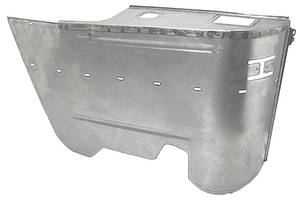 1964-67 Chevelle Armrest Panel, Lower Rear (Convertible)