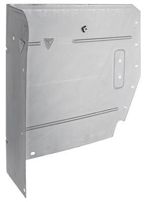 1968-72 LeMans Armrest Panels, Convertible Rear (Upper)