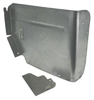 1968-72 Chevelle Armrest Panels, Upper Convertible Rear
