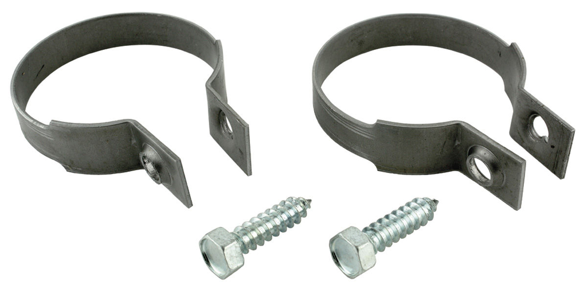 """Photo of Tailpipe Clamp Phosphate Coated 2-1/2"""" dia."""