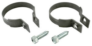 "1959-77 Catalina Exhaust Tailpipe Clamp Phosphate Coated 2-1/2"" Dia."