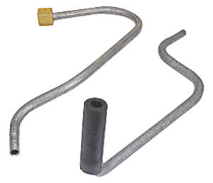 1965-1965 Bonneville Choke Tubes, Tri-Power