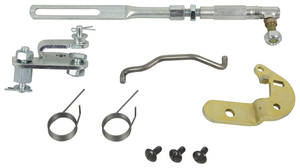 1966 GTO Carburetor Accelerator Linkage Sets, Tri-Power