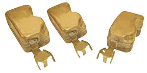 1966 Cutlass/442 Tri-Power Accessory Brass Carb Floats (3)