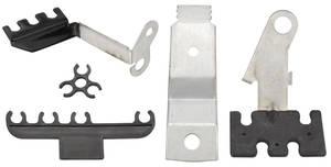 1967-1967 LeMans Spark Plug Wire Brackets 5-Piece