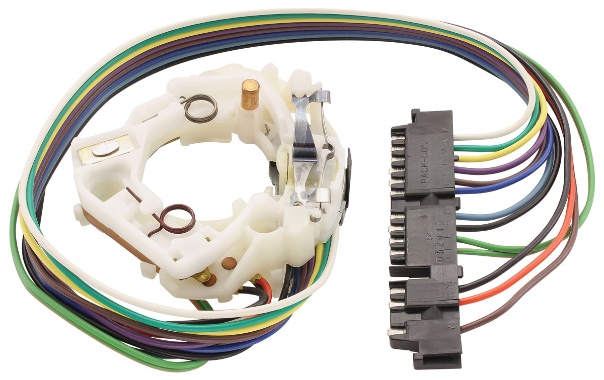 1969-76 cadillac turn signal switch w/tilt and telescope ... cadillac turn signal switch wiring 1993 mustang turn signal switch wiring diagram