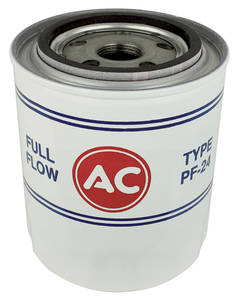 1964-1966 GTO Oil Filter, AC Delco PF-7, V8