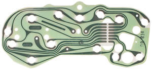 1973 GTO Circuit Board, Printed w/o Gauges