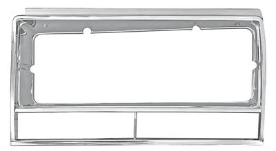 1982-87 Headlight Bezels El Camino and Malibu