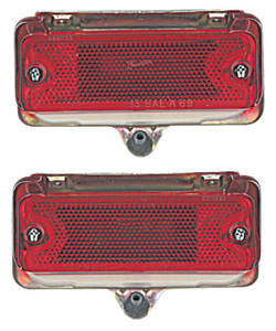 1969-72 Lamp Assembly, In Bumper (El Camino & Wagon)