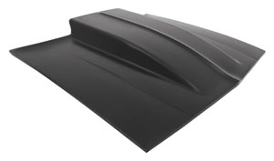 "1978-1987 El Camino Hood, Fiberglass (El Camino & Malibu) Cowl Induction 5"", by Glasstek"