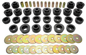 1978-1988 Monte Carlo Body Bushings, Urethane, by Prothane