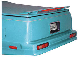 "1978-87 Deck Spoiler, Rear (El Camino) w/o Third Brake Light (63"")"